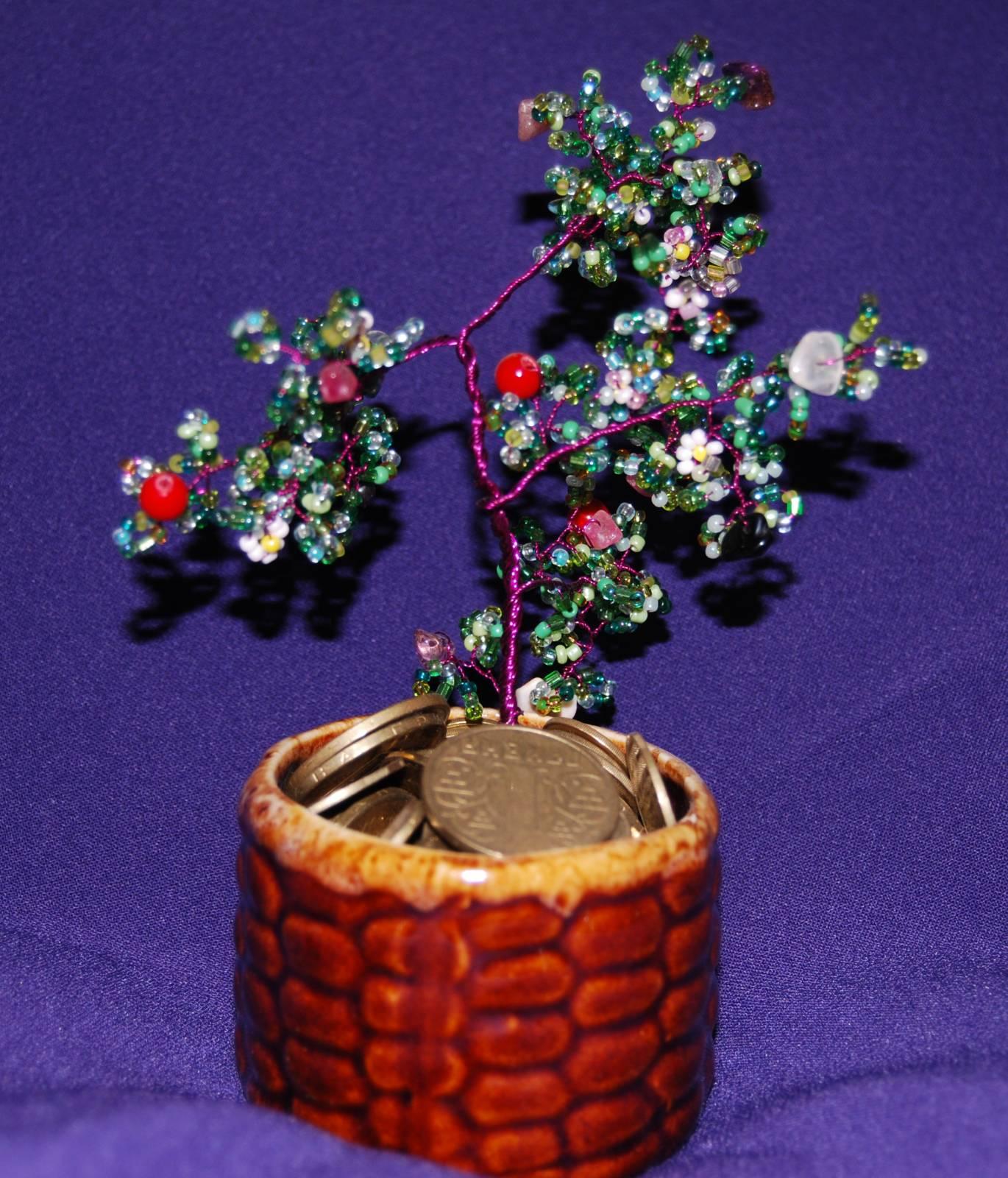 Денежное дерево поделки
